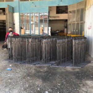metal güvenlik bariyeri metal bariyer zabıta bariyeri demir güvenlik bariyer trafik ürünleri trafik malzemeleri polis bariyeri demir bariyer imalatı üretimi ankara